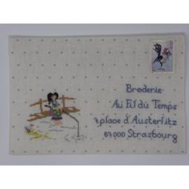 Art postal Juillet