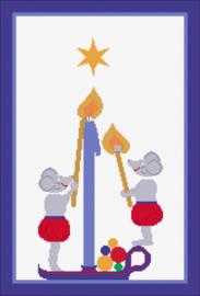 Advent Advent 1 Lichtlein Brent