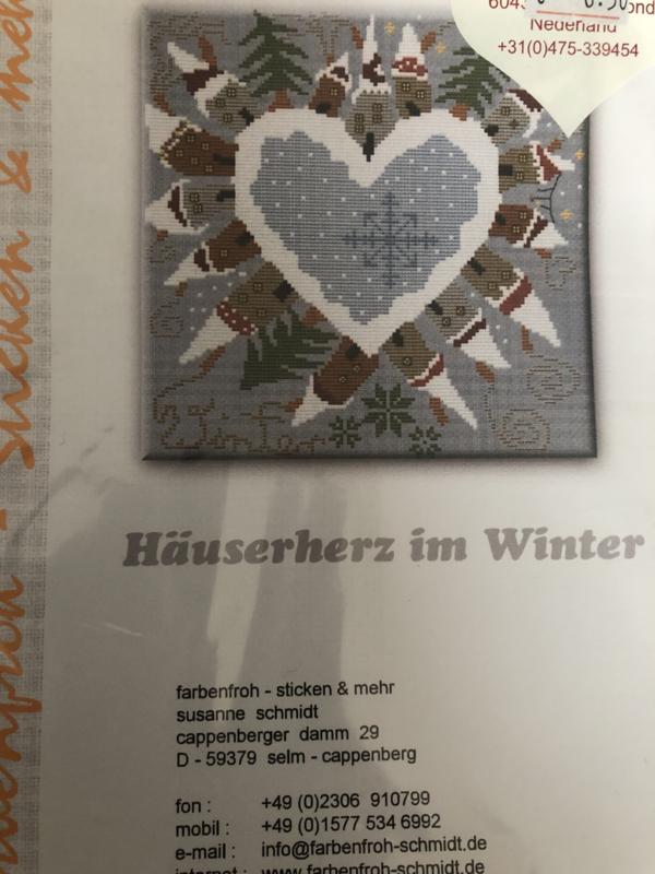Hauserhertz im Winter