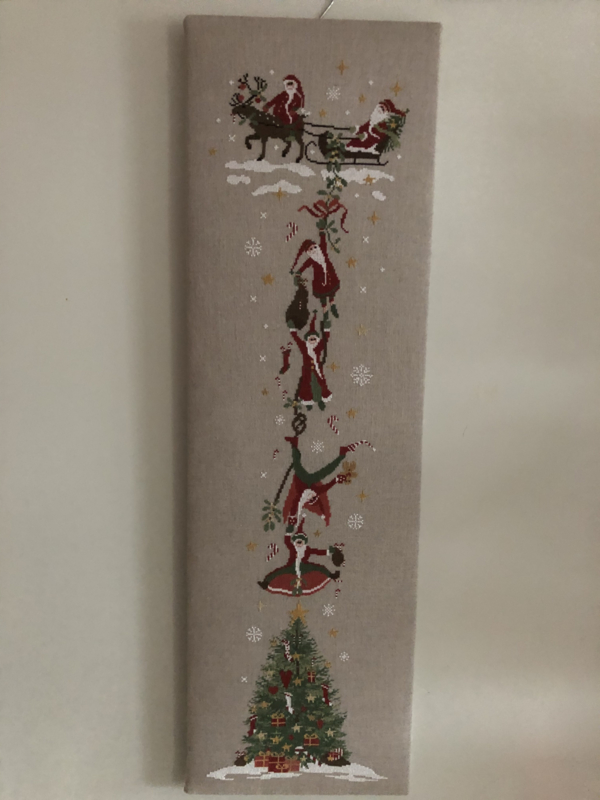 Hangin Santa Pakket Compleet