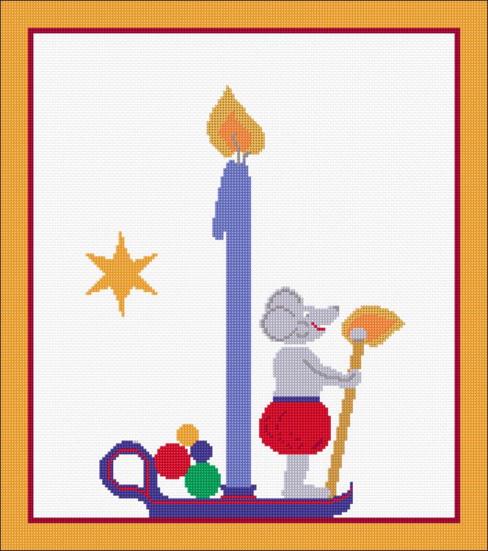 Advent Advent 1 Lichtlein brent fertig
