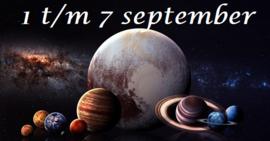 1 t/m 7 september