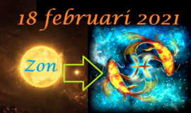 Zon in Vissen - 18 februari 2021
