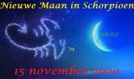 Nieuwe Maan in Schorpioen - 15 november 2020