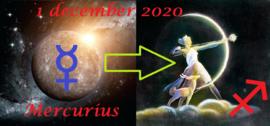 Mercurius in Boogschutter - 01 december 2020