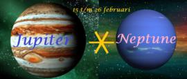 Jupiter sextiel Neptunus - 15 t/m 26 februari