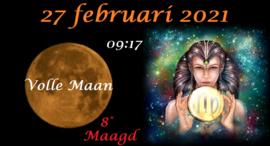 Volle Maan in Maagd - 27 februari 2021