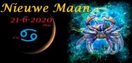 Nieuwe Maan in Kreeft - 21 juni 2020