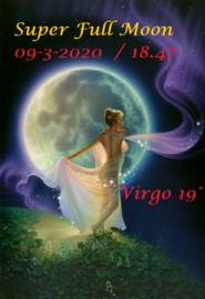 Volle Maan in Maagd - 9 maart 2020