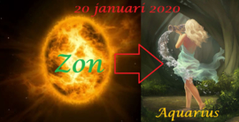 Zon in Waterman - 20 januari 2020