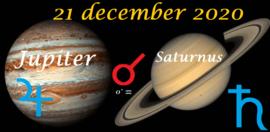 Jupiter ontmoet Saturnus - 21 december