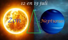 Zon driehoek Neptunus - 12 en 13 juli