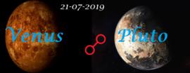 Venus oppositie Pluto 21-07-2019