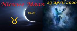 Nieuwe Maan in Stier - 23 april 2020 / 04:25