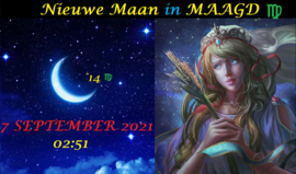 Nieuwe Maan in Maagd - 7 september 2021