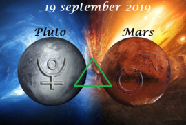 Mars driehoek Pluto - 19 september