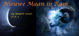 Nieuwe Maan in Ram – 24 maart 2020 10:28