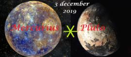 Mercurius sextiel Pluto  - 3 december 2019