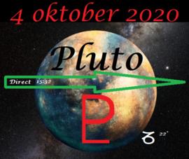 Pluto direct - 4 oktober 2020