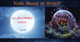 Volle Maan in Kreeft - 30 december 2020