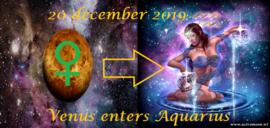 Venus in Waterman - 20 december 2019