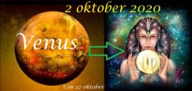 Venus in Maagd - 2 oktober 2020