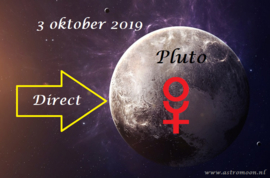 Pluto direct - 3 oktober 2019
