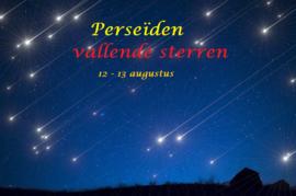 Perseïden - Vallende sterren - 12 augustus 2020