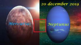 Mercurius vierkant Neptunus - 20 december 2019
