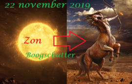 Zon in Boogschutter - 22 november 2019