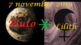 Pluto sextiel Lilith - 7 november 2019