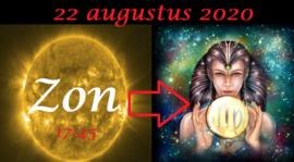 Zon in Maagd - 22 augustus 2020