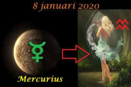 Mercurius in Waterman - 8 januari 2021