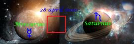 Mercurius vierkant Saturnus - 28 april 2020