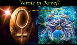 Venus in Kreeft - 7 augustus 2020