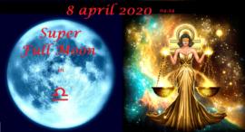 Super Volle Maan in Weegschaal - 8 april 2020 / 04.34