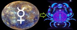 Mercurius in Kreeft -  4 juni