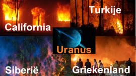 Uranus en de bosbranden