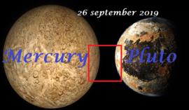 Mercurius vierkant Pluto - 26 september 2019