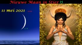 Nieuwe Maan in Stier - 11 mei 2021