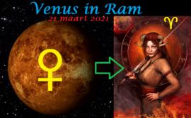 Venus in Ram - 21 maart 2021