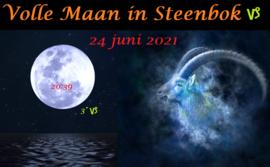 Volle Maan in Steenbok - 24 juni 2021