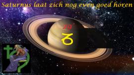 Saturnus - lockdown - 14 december 2020