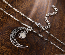 Maan ketting - glow in the dark