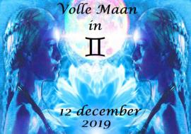Volle Maan in Tweelingen - 12 december 2019