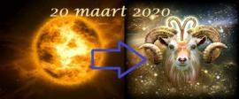 Zon in Ram - 20 maart 2020