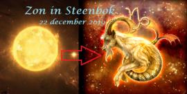 Zon in Steenbok - 22 december 2019