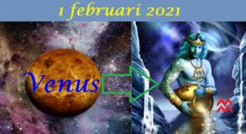 Venus in Waterman - 1 februari 2021