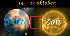 Pluto vierkant Zon - 14+15 oktober