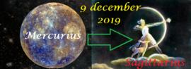Mercurius in Boogschutter - 9 december 2019